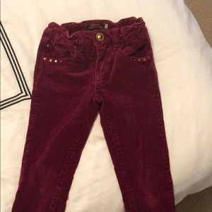 Catimini corduroy red kids size 4rs old